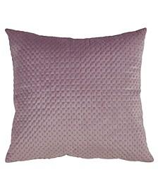 "Pinsonic Velvet Throw Pillow, 18"" x 18"""