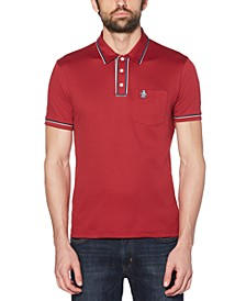 Men's Slim-Fit Earl 3D Polo Shirt