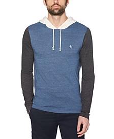 Men's Slim-Fit Colorblocked Hoodie