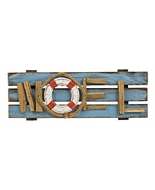 Solid Wood Christmas Wall Decor