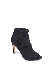 Jewel Badgley Mischka Rockford Stretch Booties