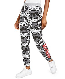 Camo-Print Sweatpants