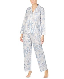Petite Cotton Printed Pajama Set