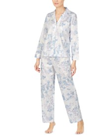 Lauren Ralph Lauren Petite Cotton Printed Pajama Set
