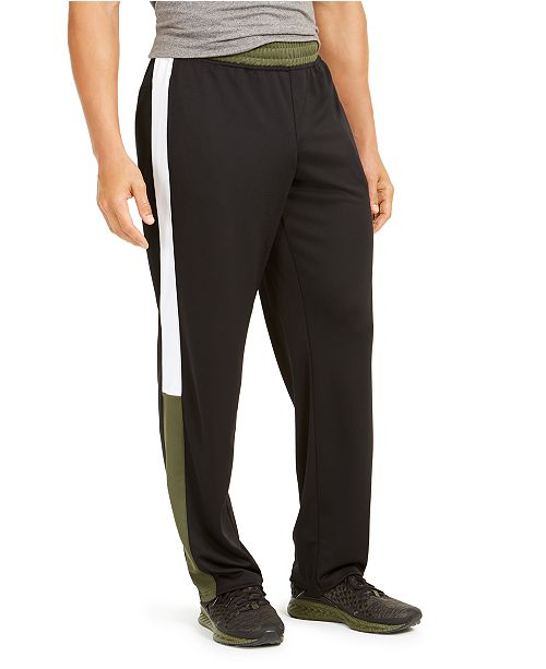 Ideology Men's Colorblocked Track Pants, Created for Macy's