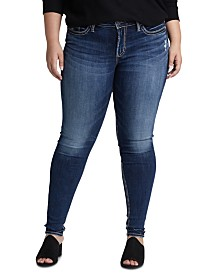 Silver Jeans Co. Plus Size Skinny Jeans