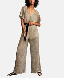 Open Knit Jumpsuit