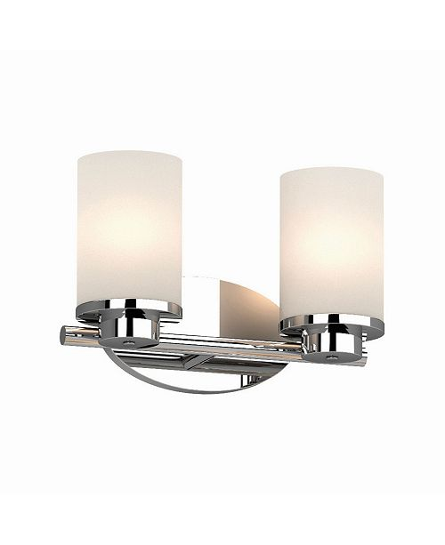 Volume Lighting Sharyn 2-Light Bathroom Vanity Wall Sconce or Wall Mount