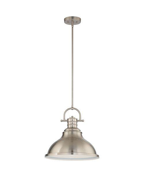 Volume Lighting 1-Light Integrated LED Downrod Pendant