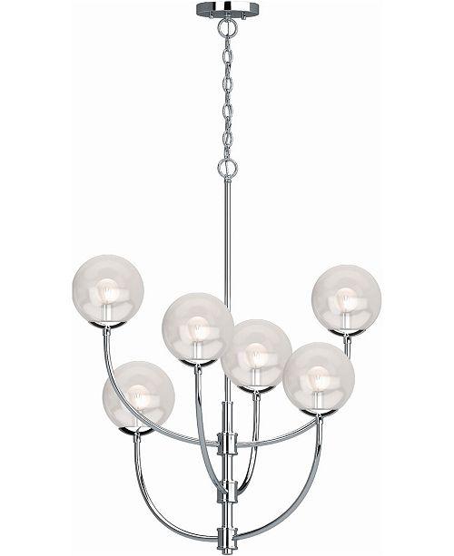Volume Lighting Lawrence 6-Light Hanging Chandelier