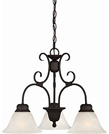 Troy 3-Light Hanging Chandelier