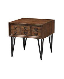 Oxford One Drawer End Table, Quick Ship
