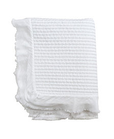 Saro Lifestyle Quilted Throw