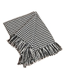 Houndstooth Design Throw