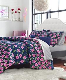 Betsey Johnson Rose Garden Twin Comforter Set