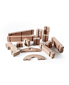 Guidecraft Notch Blocks - 89 Pieces Set