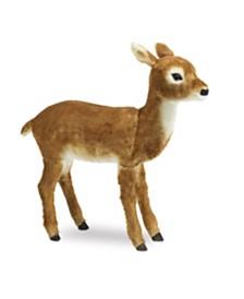 Gerson & Gerson 35.5-Inch High Faux Fur Baby Deer Figure