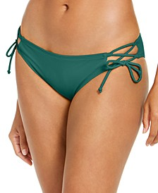 Solid Kylie Tie-Side Strappy Bottoms, Created for Macy's