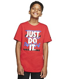Nike Big Boys Just Do It Printed Graphic T-Shirt
