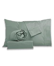 Silky Touch Sateen Silky Sheet Set- King