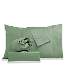 Brushed Velvet Touch Percale Sheet Set- King