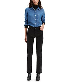 Classic Straight-Leg Corduroy Jeans