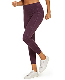 Tonal-Print Ankle Leggings, Created for Macy's