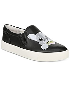 Evelina Bulldog Slip-On Sneakers