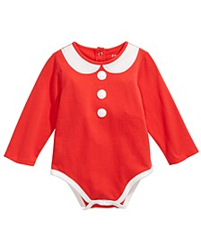 Baby Girls Mrs. Claus Bodysuit, Created For Macy's