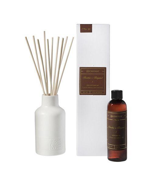 Aromatique Harvest Bourbon & Bergamot Reed Diffuser