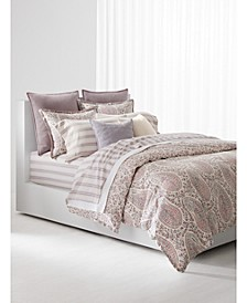 Ralph Lauren Claudia Paisley Queen Duvet Set