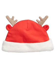 Baby Boys & Girls Reindeer Hat With Faux-Fur Trim, Created For Macy's