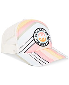 Big Girls Printed Trucker Hat