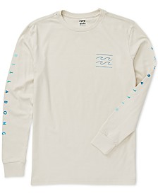 Billabong Big Boys Cotton Long-Sleeve T-Shirt