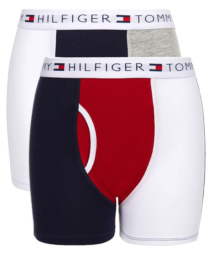Tommy Hilfiger - Little & Big Boys 2-Pk. Colorblocked Boxer Briefs