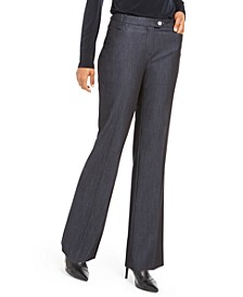 Petite Modern Straight-Leg Dress Pants