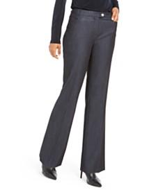 Calvin Klein Petite Modern Straight-Leg Pants