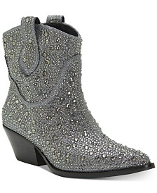 Jessica Simpson Tamira Embellished Western Booties