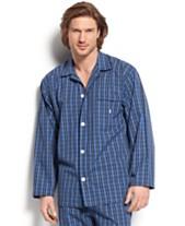 Polo Ralph Lauren Men s Harwich Plaid 100% Cotton Long-Sleeved Pajama Top 5839cdfc8