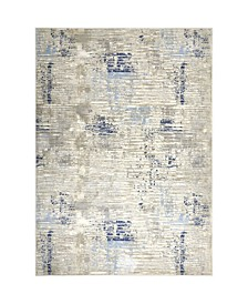 "Barstow BAR02 Gray 7'10"" x 10'2"" Area Rug"