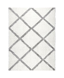 "Riley RIL02 Ivory 5'2"" x 7'2"" Area Rug"