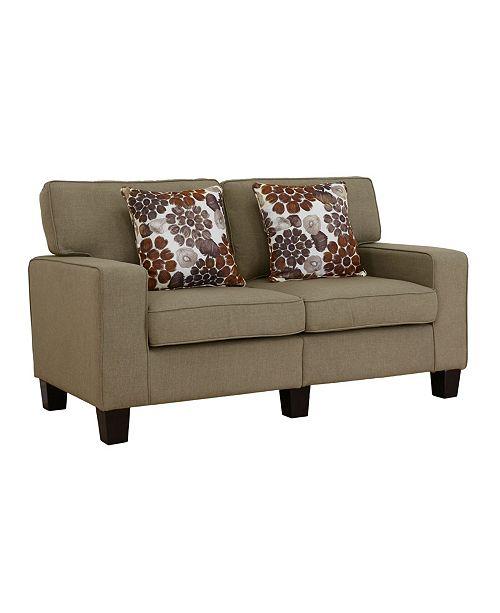 Us Pride Furniture BelvideraLoveseat