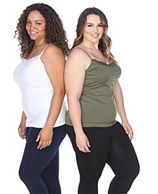 Plus Size Tank Tops Pack of 2