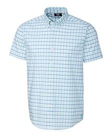 Men's Soar Windowpane Short Sleeve