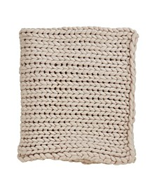 Chunky Woven Knit Throw