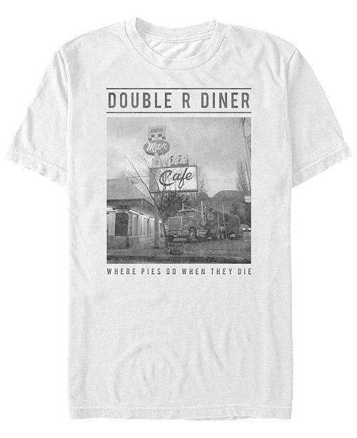 Twin Peaks Men's Double R Diner Short Sleeve T-Shirt