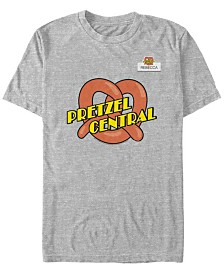 Crazy Ex Girlfriend Men's Rebecca's Pretzel Central Uniform Short Sleeve T-Shirt