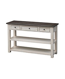 St. Claire Three Drawer Console Table, Quick Ship