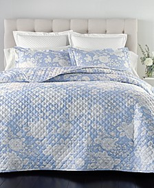 Cotton 210-Thread Count 3-Pc. Full/Queen Coverlet Set, Created for Macy's