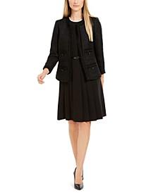 Tweed Jacket & Fit & Flare Dress